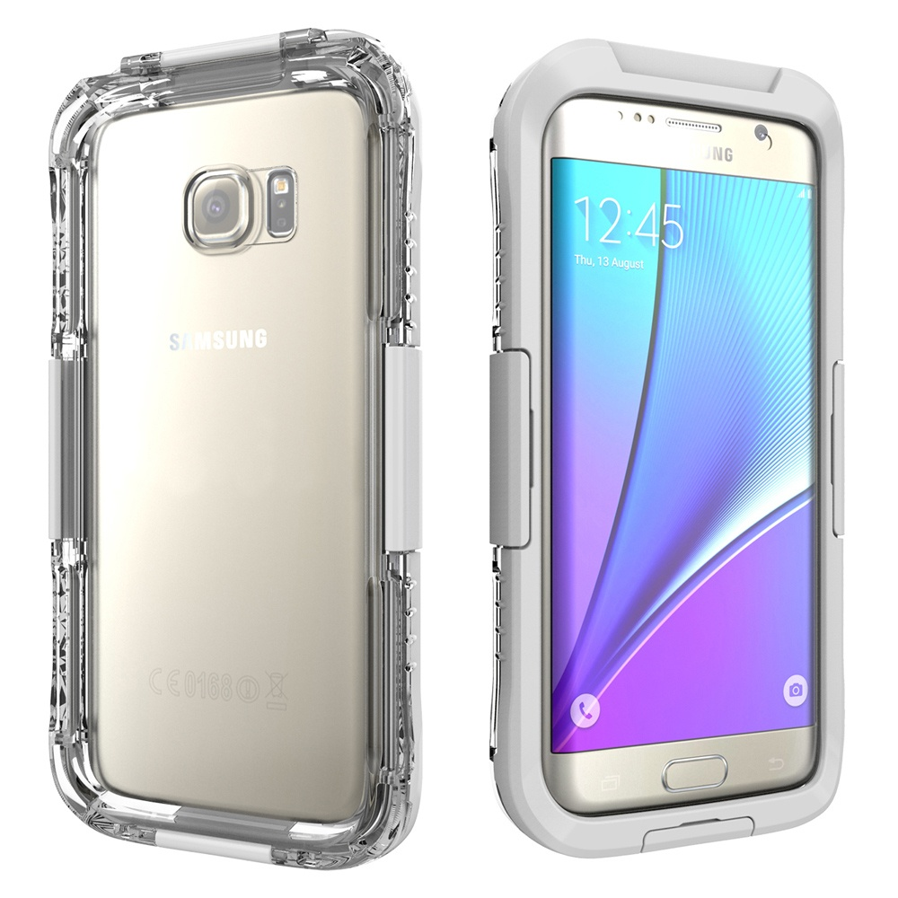 newest collection 25dfd 37704 10M Underwater Waterproof Dive Case for Samsung Galaxy S7 Edge G935 -  (White)