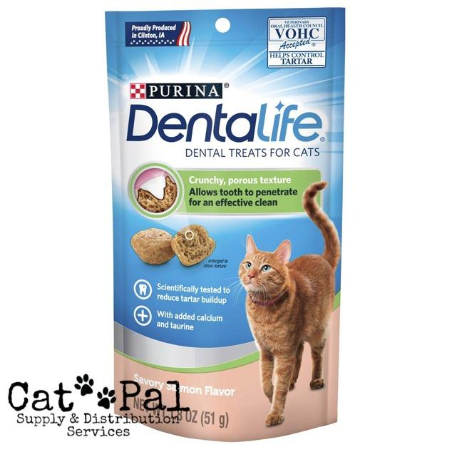 Dentalife Salmon Cat Treat 51g By Catpal.