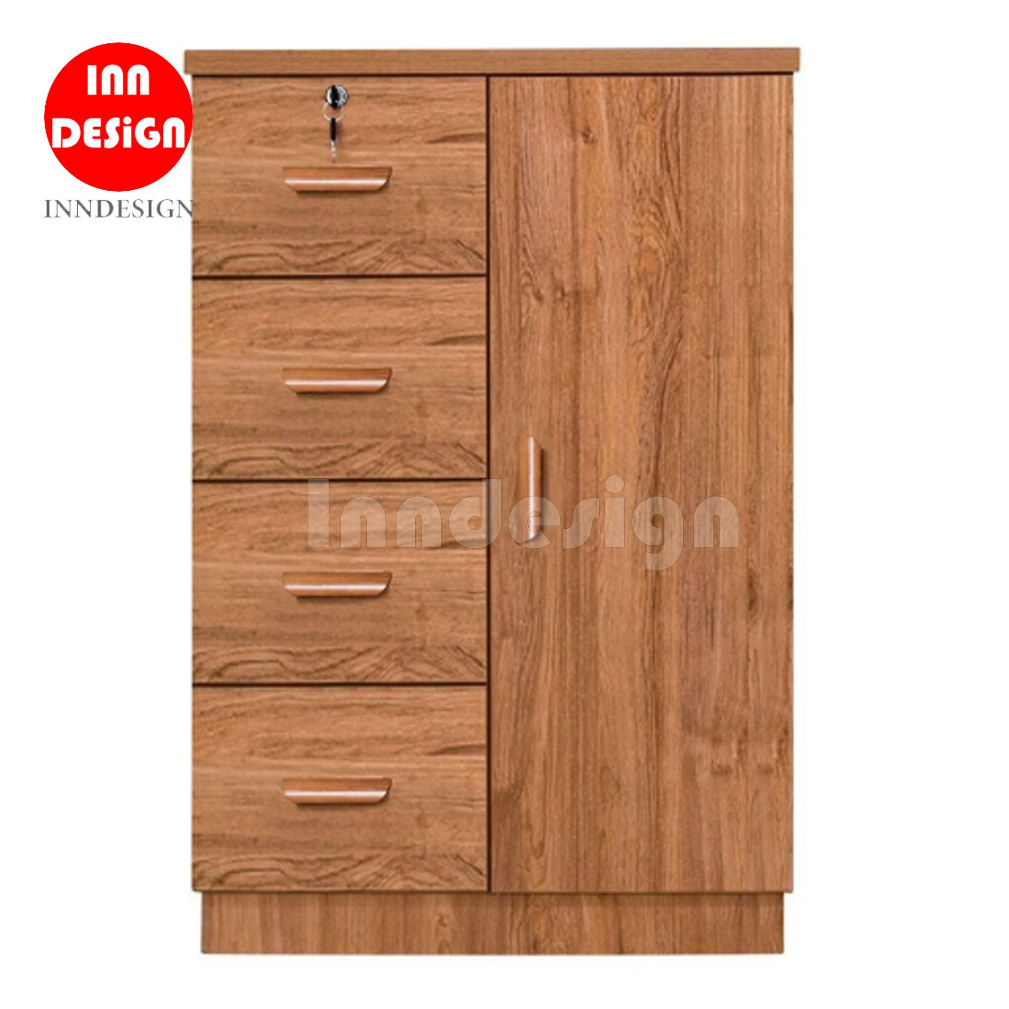 Spacer 4+1 Chest of Drawer (Fully MDF)