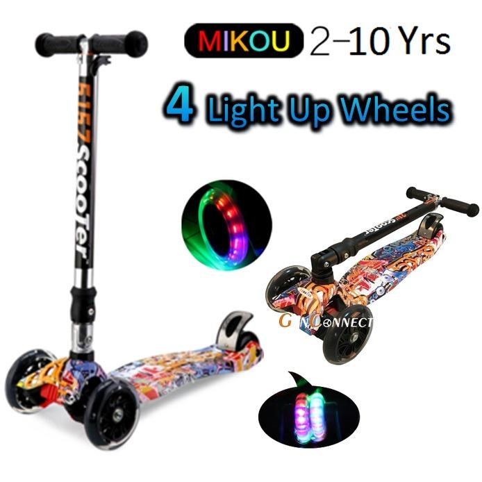 For Sale 4 Wheels Kids Scooter For Children