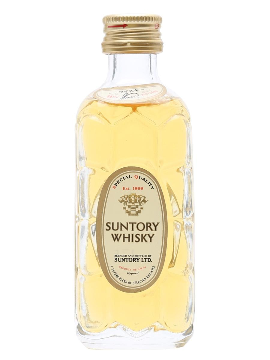 Suntory Kakubin Yellow Label Whisky 50ml Miniature By Mini Collector.