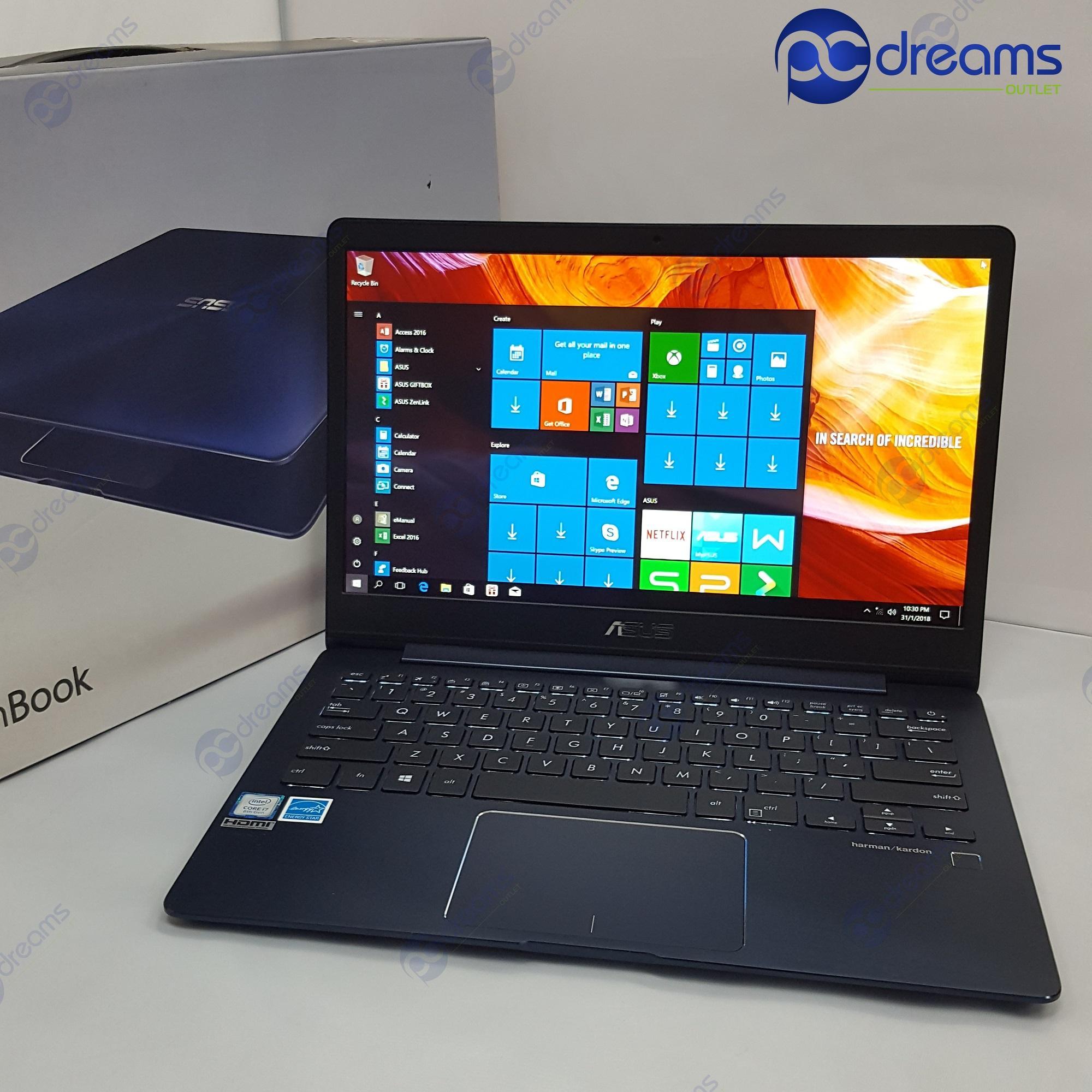 COMEX 2018! ASUS ZENBOOK UX331UN-EG008T i7-8550U/16GB/512GB SSD [Premium Refreshed]