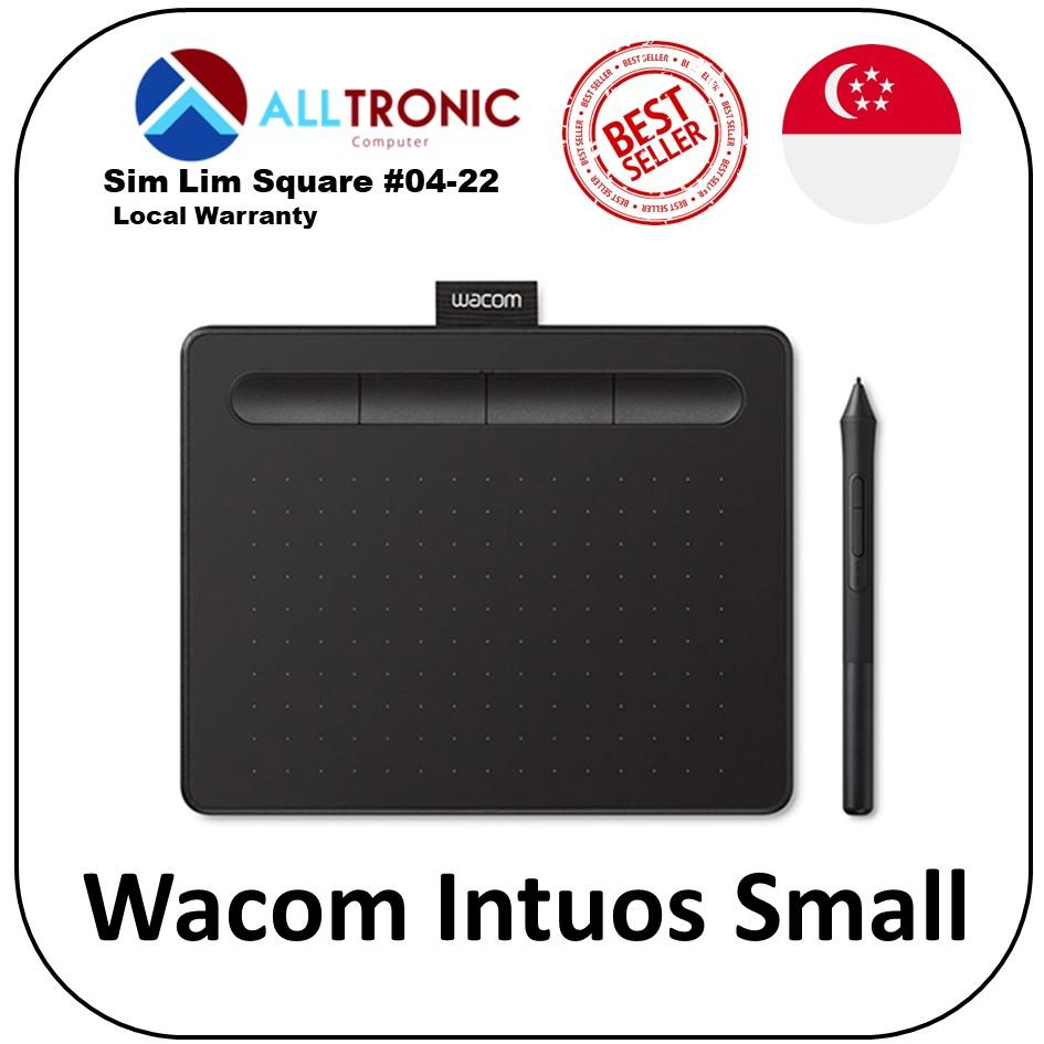 Wacom Intuos Small Black (CTL-4100/K0-CX) with Free Creative software Download