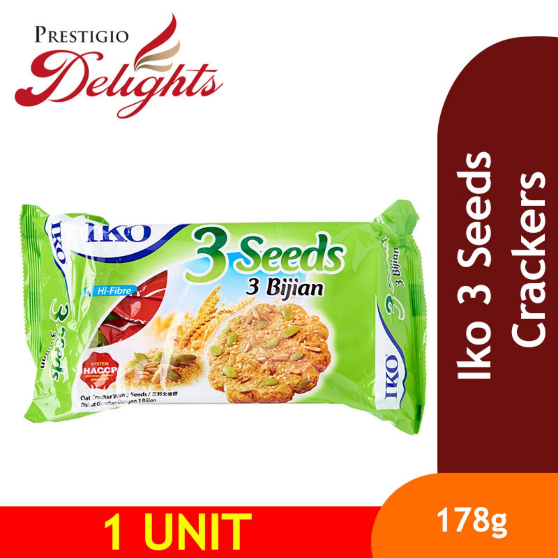 Iko 3 Seeds Crackers By Prestigio Delights.