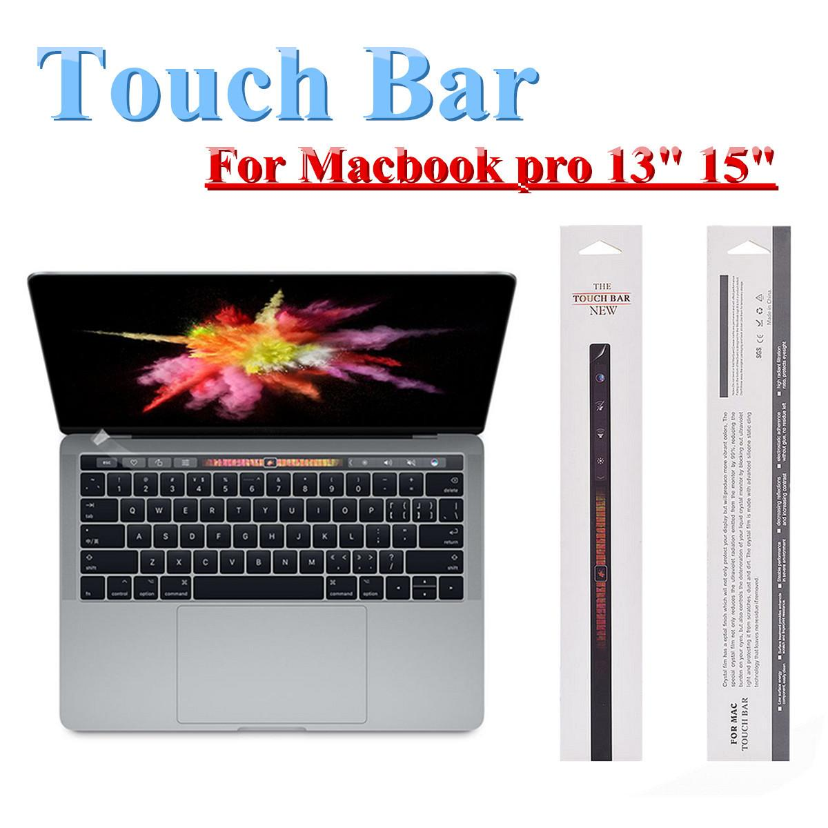 Touch Bar Film New Mac Film Transparent Anti Dust Anti Slip Film for Apple MacBook New Pro 13 with touchbar (A1706/A1989) Laptops Accessories