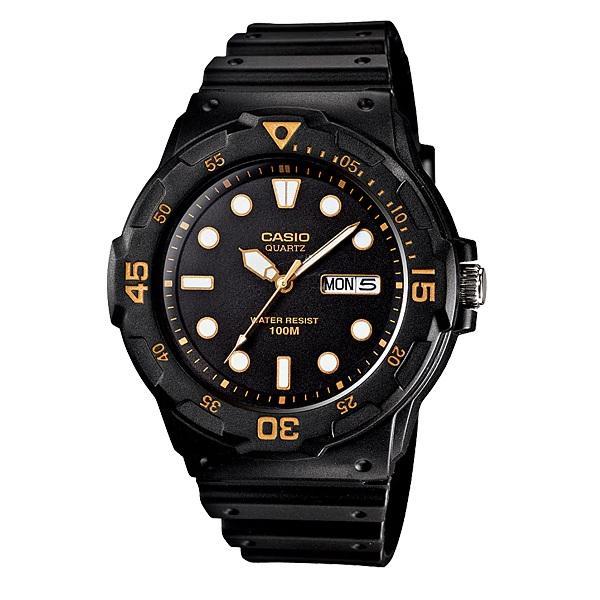 Casio Mrw-200h-1evdf Mens Resin Strap Watch Mrw-200h-1e Mrw200h-1e By Luxolite.