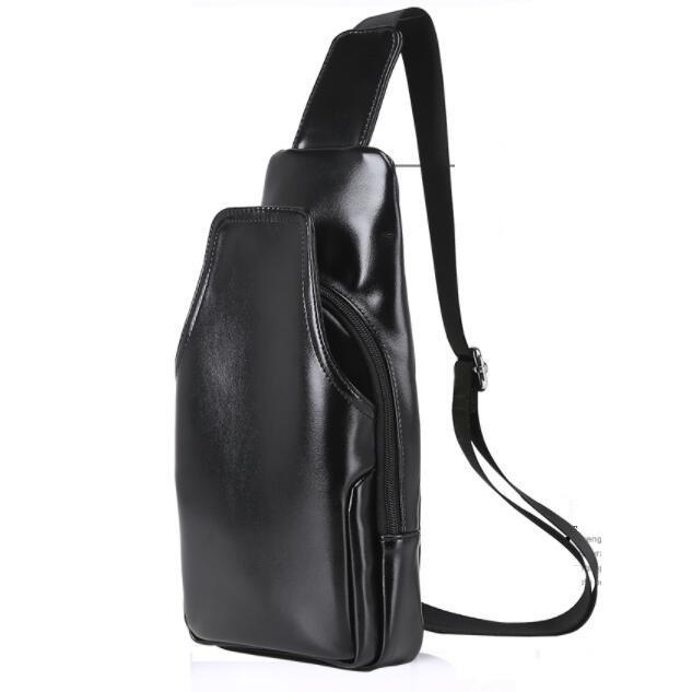 Latest Outlet Korea Korean Fashion Men S Casual Inclined Shoulder Bag Black Intl