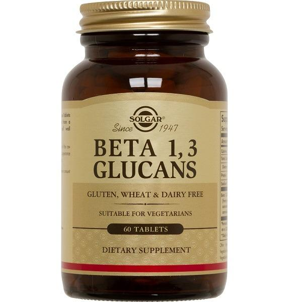 Solgar Beta 1 3 Glucans 60 Tablets Vegan On Line
