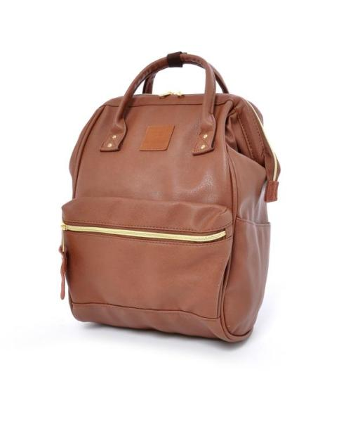 [Anello] 100% Authentic Japan Unisex Backpack (FAUX LEATHER/QUILTED LEATHER) Size: MINI