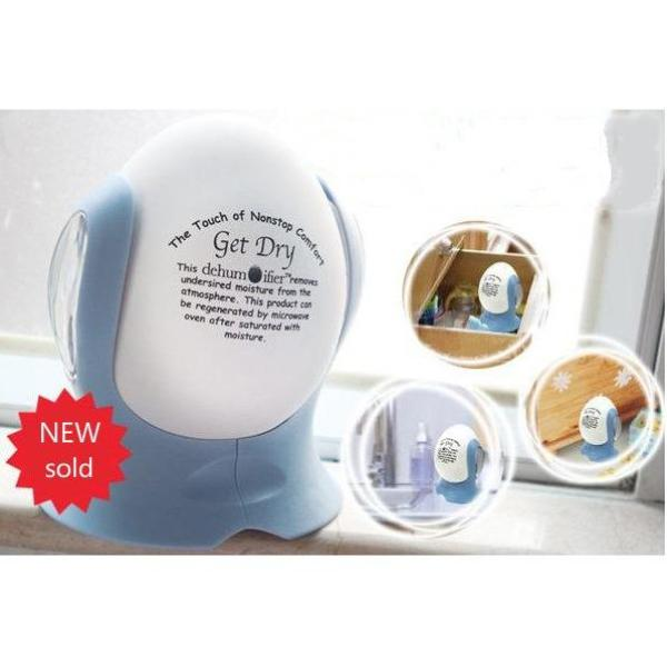 Reusable Dehumidifier EGG Ceramic Dehumidifying Wardrobe -intl Singapore