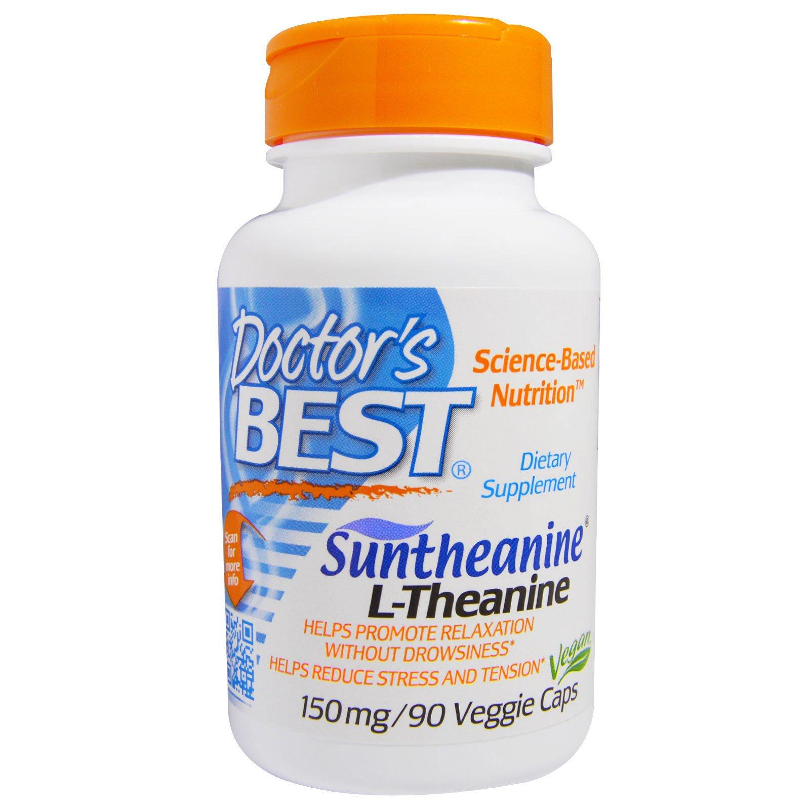 Buying Doctor S Best Suntheanine L Theanine 150 Mg 90 Veggie Caps