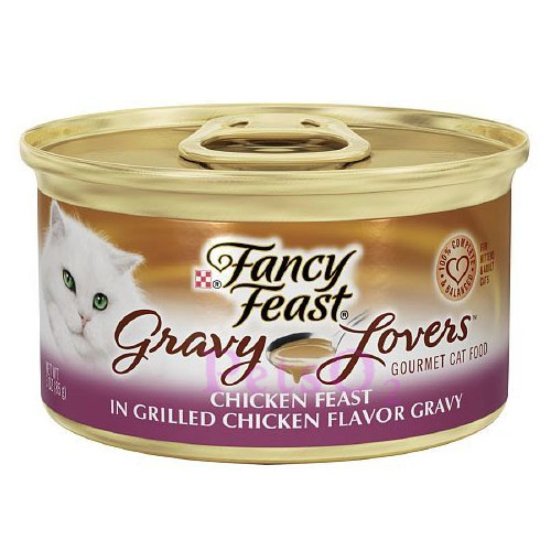 Fancy Feast Gravy Lovers Chicken 85G X24 Singapore