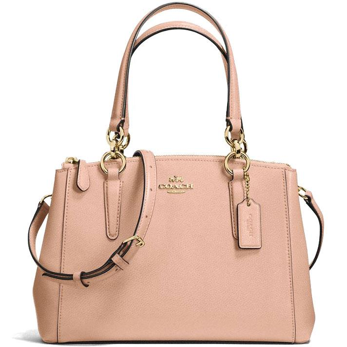 Where To Shop For Coach Crossgrain Leather Mini Christie Carryall Crossbody Shoulder Bag Handbag N*d* Pink F57523 Gift Receipt