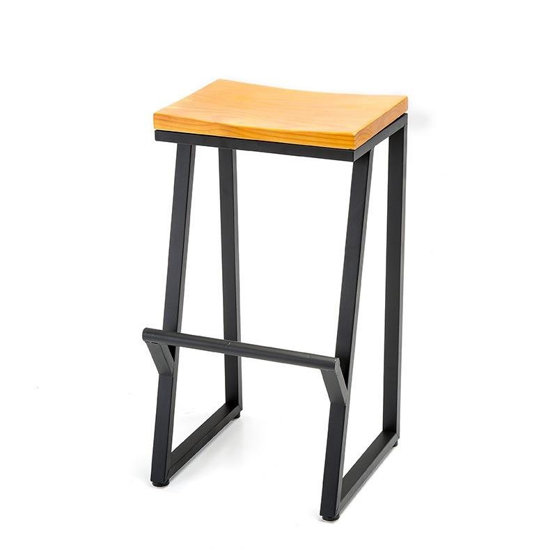Top Rated Retro Carbon Steel High Chair Stools 75 Cm Bar Stool