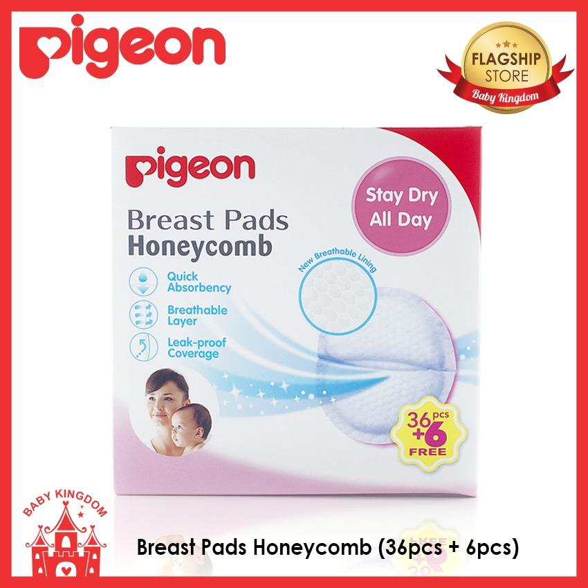 Review Pigeon Breast Pads Honeycomb 36Pcs 6Pcs Pigeon On Singapore