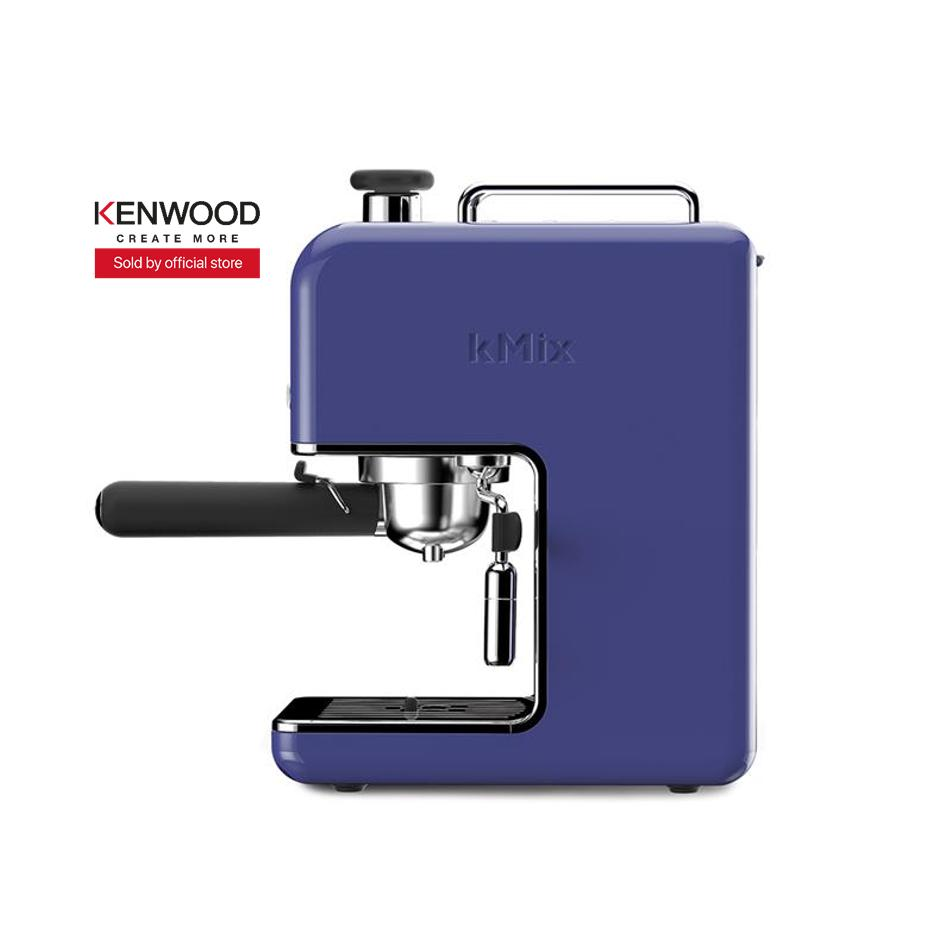 The Cheapest Kenwood Es020Bl Espresso Coffee Machine Coffee Maker Blue Online