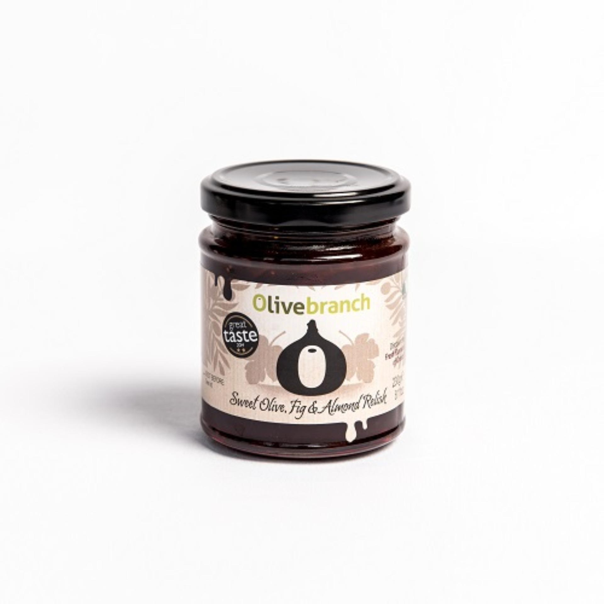 Ob Sweet Olive Fig & Alm Relish By Jones The Grocer.