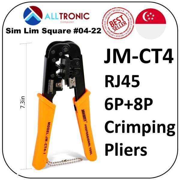 Jakemy JM-cT4 RJ45 6P+8P Crimping Pliers Tools