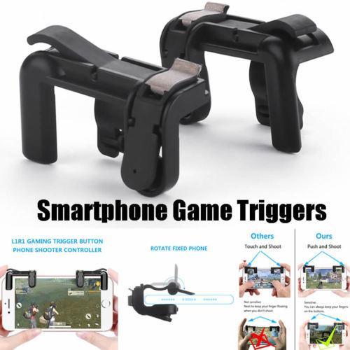 Phone Gamepad Trigger Fire Button Aim Key L1r1 Shooter Controller Pubg V3.0 Fut1 By Wripples.