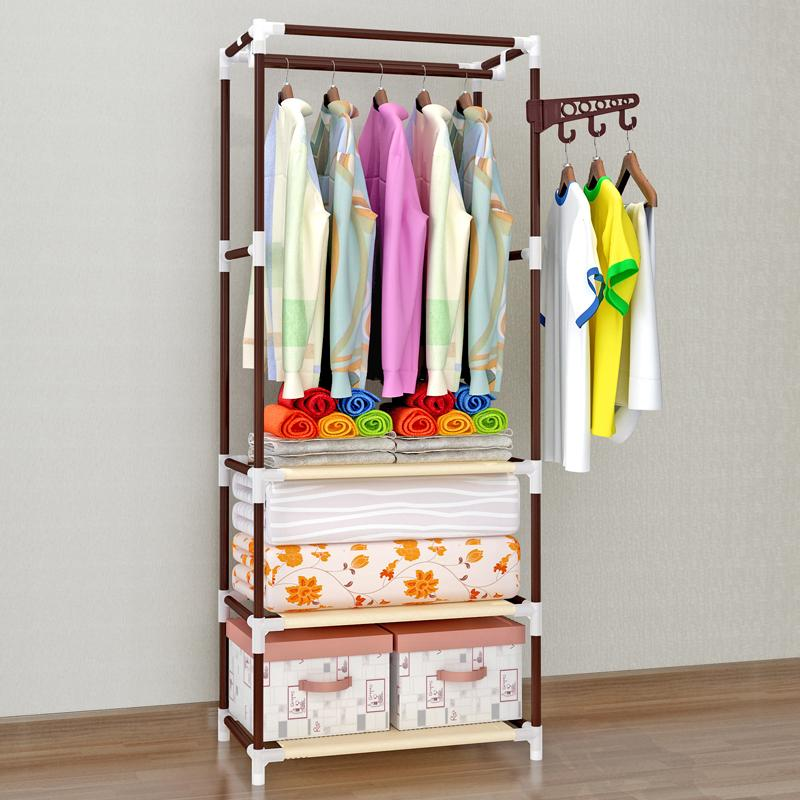 Shome nuo Hallstand Landing Bedroom Clothes Rack Creative Fashion Snnei Sedurre Attrarre HYUNDAI Simple Coat Rack