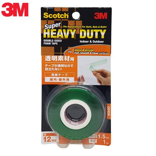 3m Scotch® Vhb™ Super Heavy Duty Clear Mounting Tape - Ktd12 By 3m Official Store.