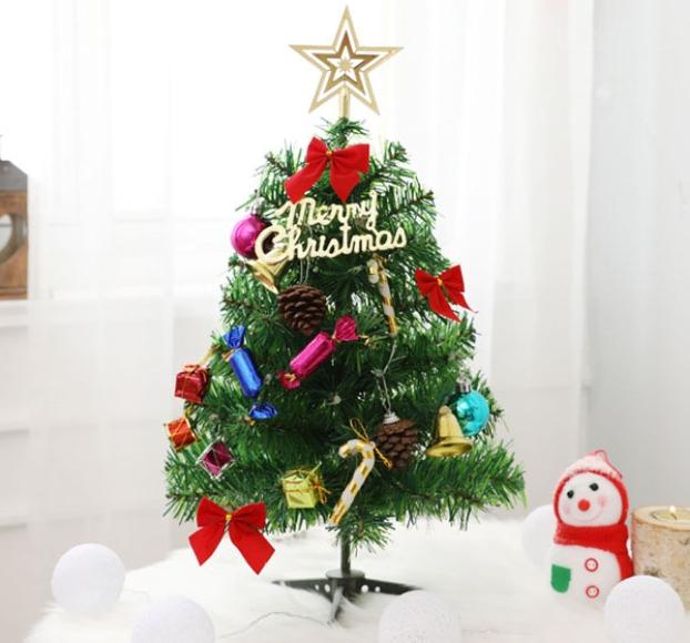 Jiji 50cm Battery Operated Table Top Christmas Tree Home Decor