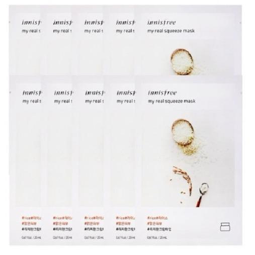 Who Sells The Cheapest Innisfree Its Real Squeeze Mask Rice 10Pcs Online