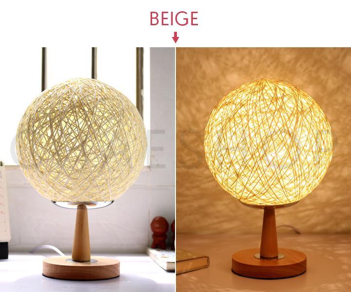 Japanese Rattan Lamp