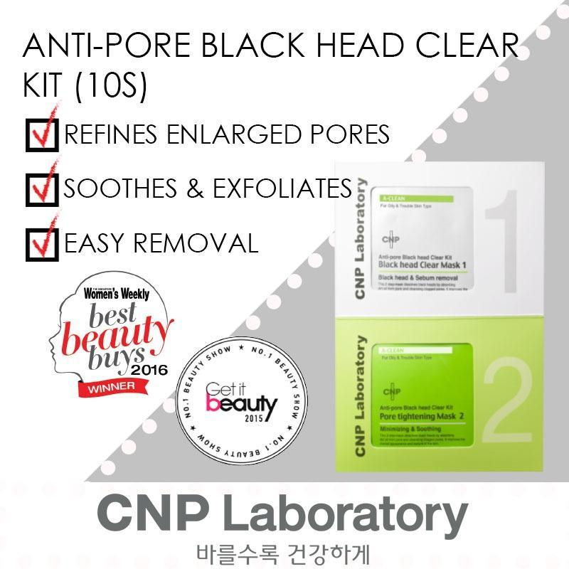 Buy CNP Laboratory Anti-Pore Blackhead Clear Kit 10 Sets Singapore