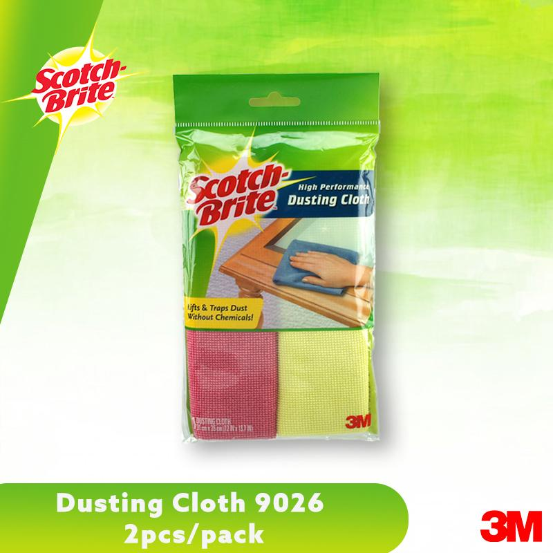 3m Scotch-Brite Dusting Cloth 9026 2pcs/pack By 3m Official Store.