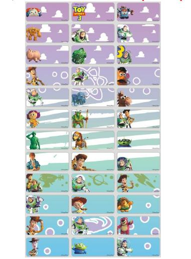 (60labels/set) Waterproof Personalized Name Label Sticker By 4ubabystore.