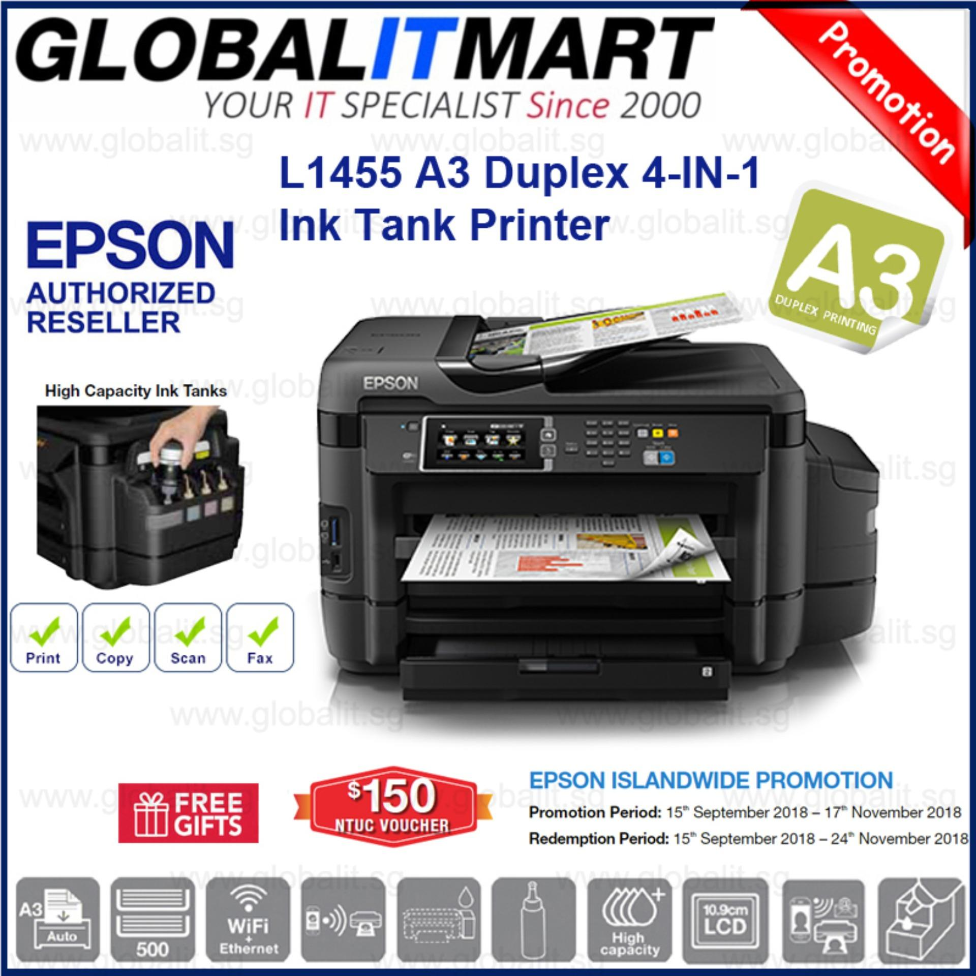 Buy Sell Cheapest Epson Best Quality Product Deals Singapore Store Printer L310 L 310 L1455 A3 Duplex 4 In 1 Ink Tank System