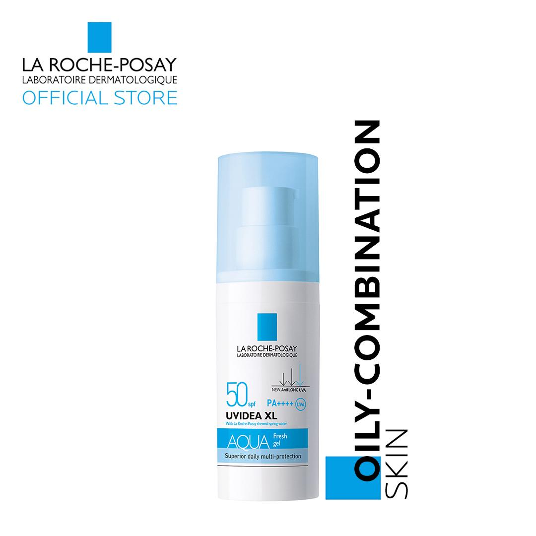 Uvidea Daily Uv Aqua Fresh Gel Spf 50 30ml [oily-Combination Skin] By La Roche-Posay By La Roche-Posay Official Store.