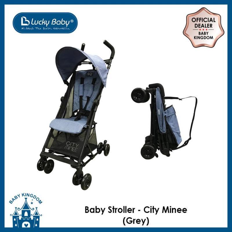 Lucky Baby Light Weight Stroller (City Minee) - Grey Singapore