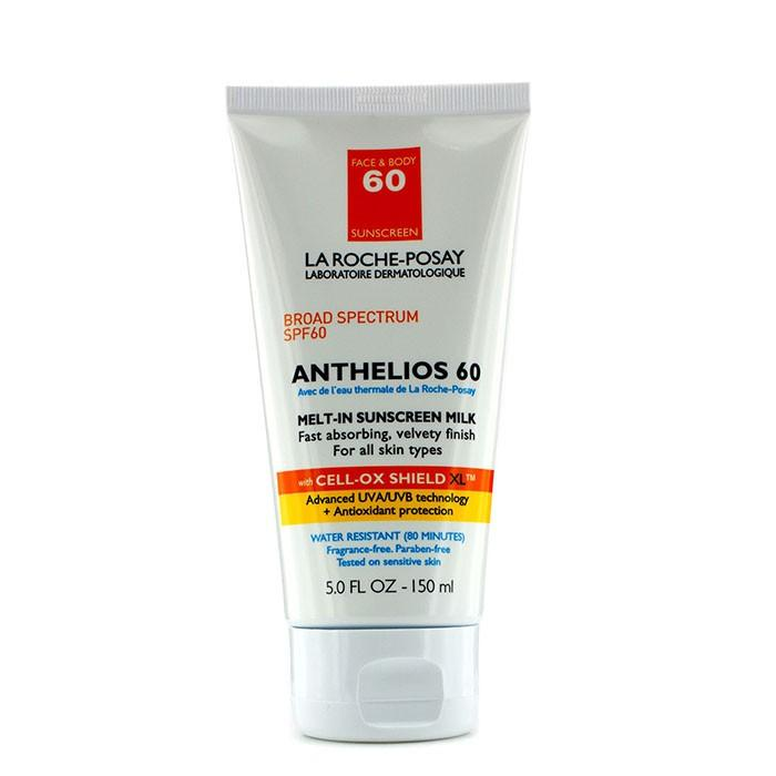 La Roche Posay Anthelios 60 Melt-In Sunscreen Milk (for Face   Body)  150ml/5oz.