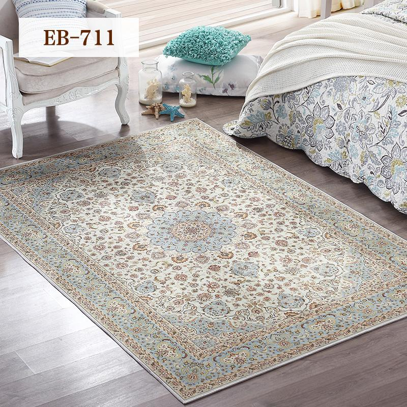Modern Minimalist Living Room Carpet Persian European-style Bedside Bedroom Rectangular Blanket Rug(80*125cm) - intl