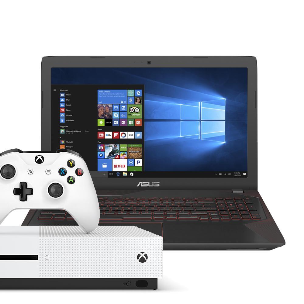 ASUS VivoBook FX553VD-DM462T (Metal) [FREE Microsoft Xbox One S (1TB)]