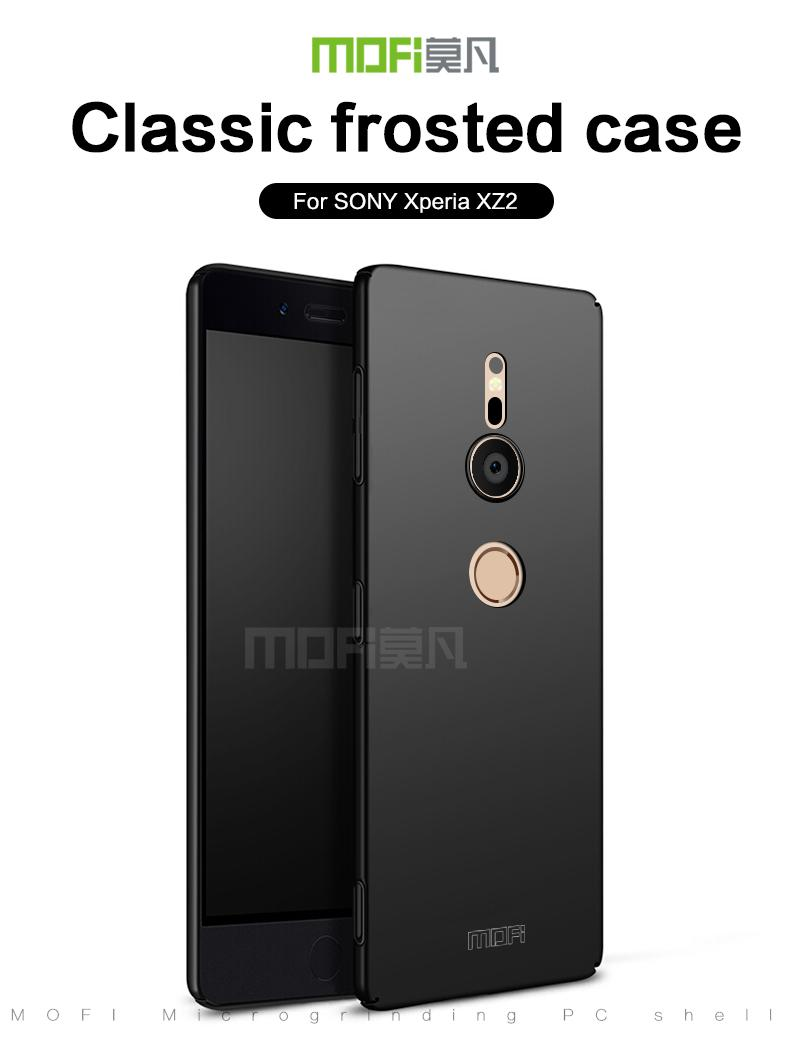 Mofi Slim Frosted Full Cover Pc Hard Case For Sony Xperia Xz2 Black Sale