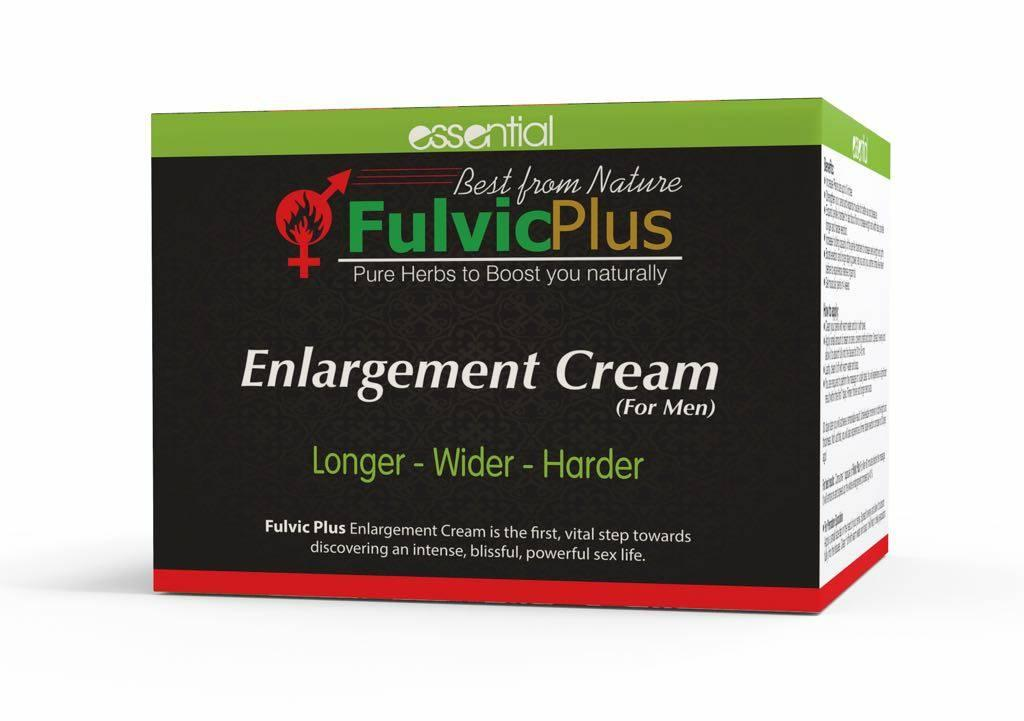 Male Enlargement Cream - Fulvic Plus (50g) By Perfect Glow Sg.