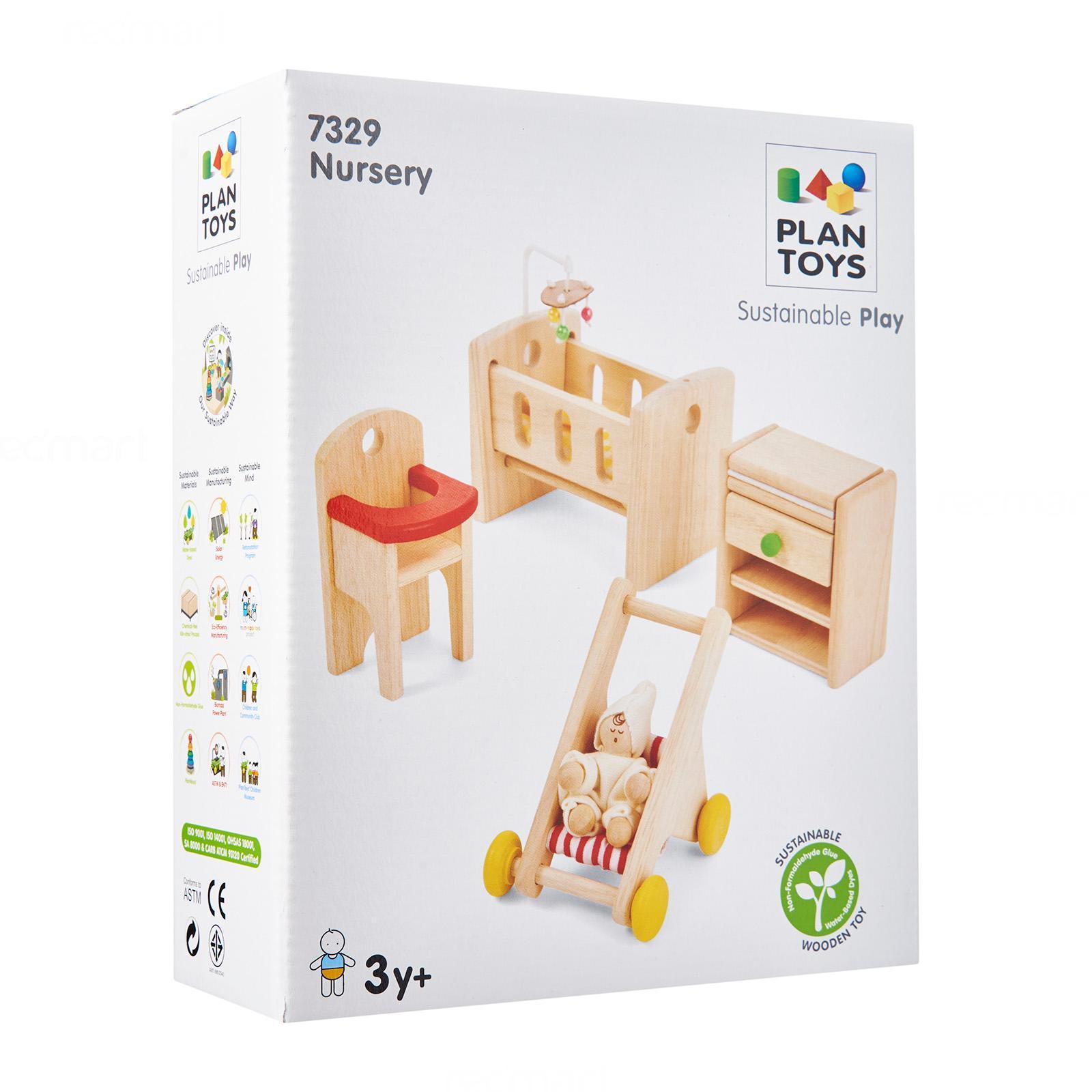 plantoys dollhouse - kitchen set (neo)