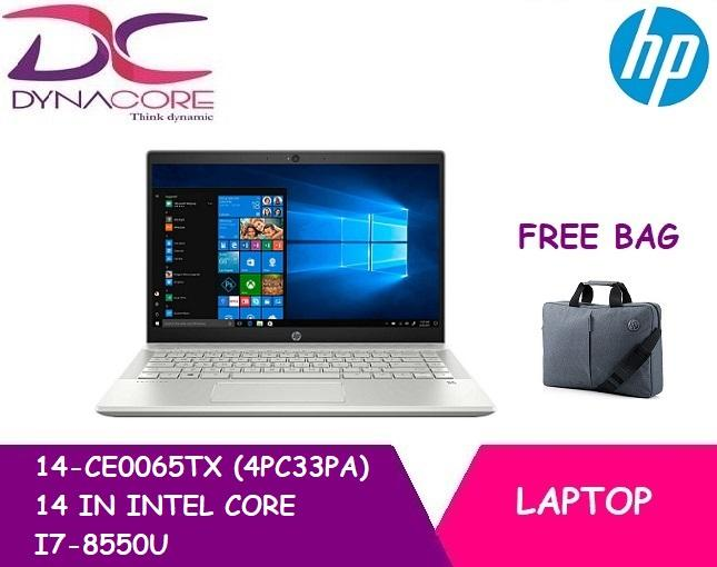 HP 14-CE0065TX (4PC33PA) 14 IN INTEL CORE I7-8550U 16GB 512GB SSD WIN 10