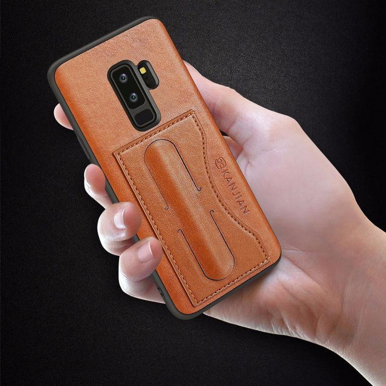Samsung Galaxy S9 Plus Case, PU Leather Case with [Card Holder Slot ] [