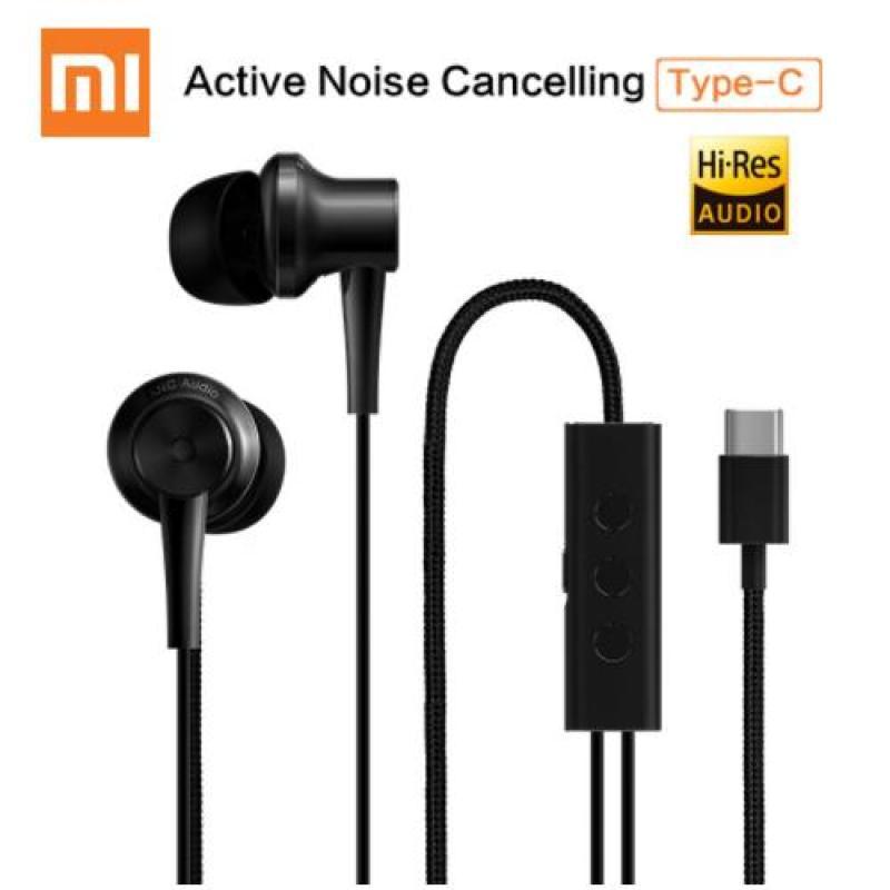 Xiaomi ANC Earphones Hybrid Type-C Mic Line Control Active Noise Cancellation Singapore