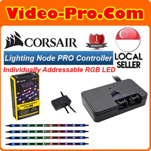 Corsair Lighting Node PRO RGB Lighting Controller with Individually Addressable RGB LED Strips CL-9011109-WW