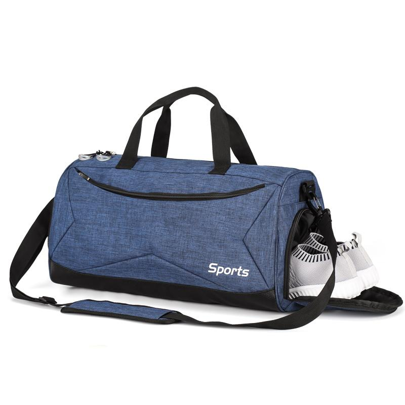 51a790b17f0c Sports Gym Bag with Wet Pocket   Shoes Compartment Travel Duffel Bag for  men and Women