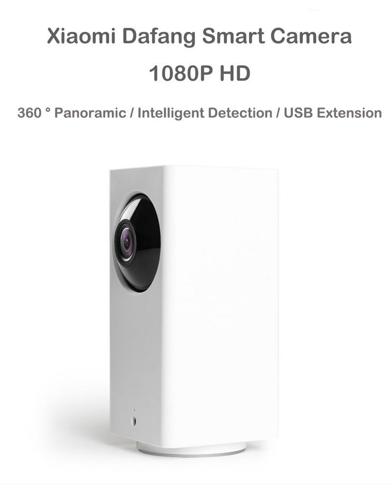 Sales Price Xiaomi Mijia Dafang Smart Camera 110 Degree 1080P Fhd Intelligent Security Wifi Cam Night Vision For Mi Home App