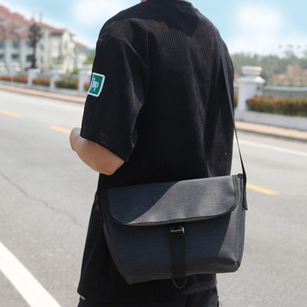 Fashion Casual Student Boy Sports School Large Capacity Messenger Crossbody  Sling Shoulder Bag(Ready Stock 802f489899017