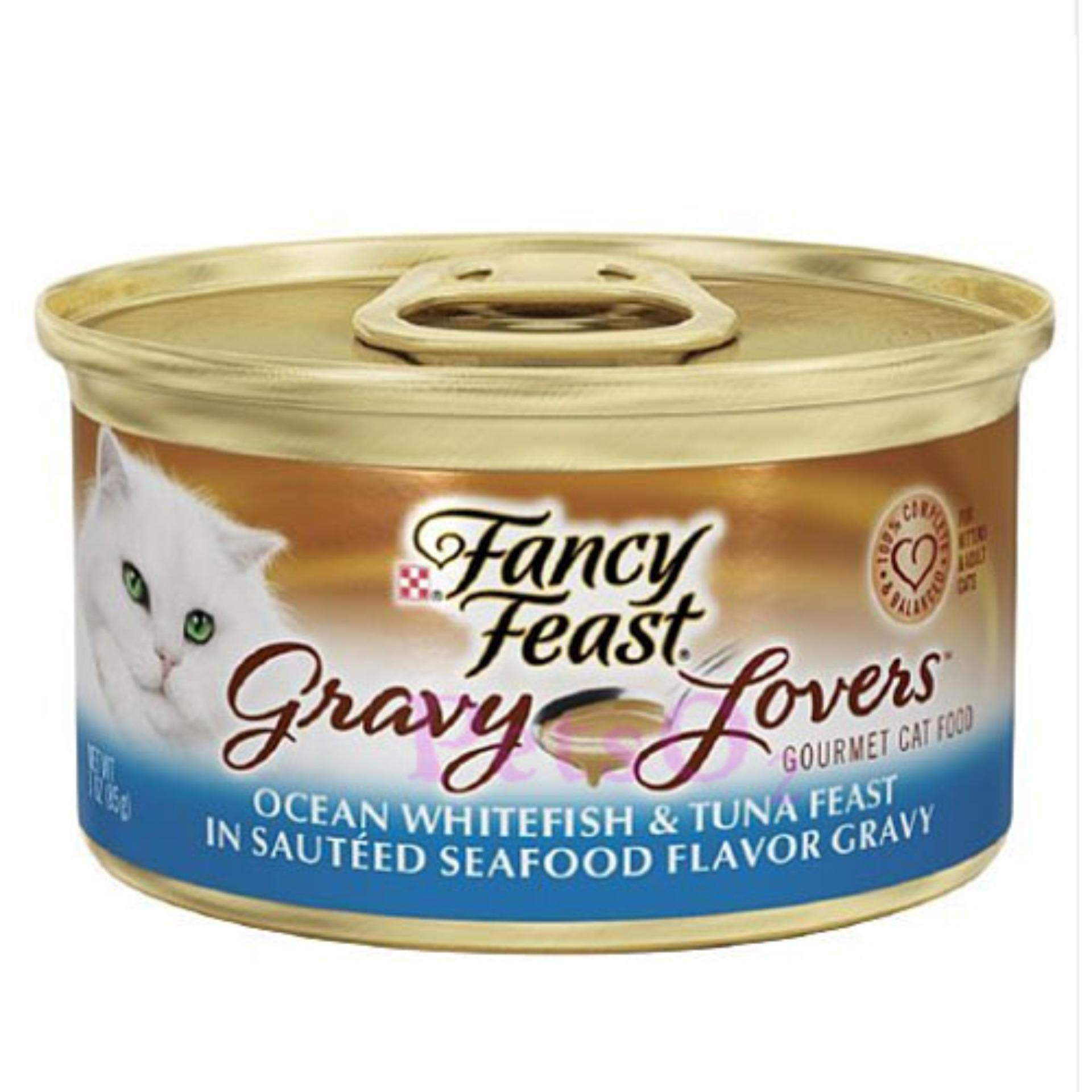 Where Can You Buy Fancy Feast Gravy Lovers Ocean Whitefish Tuna 85G X24