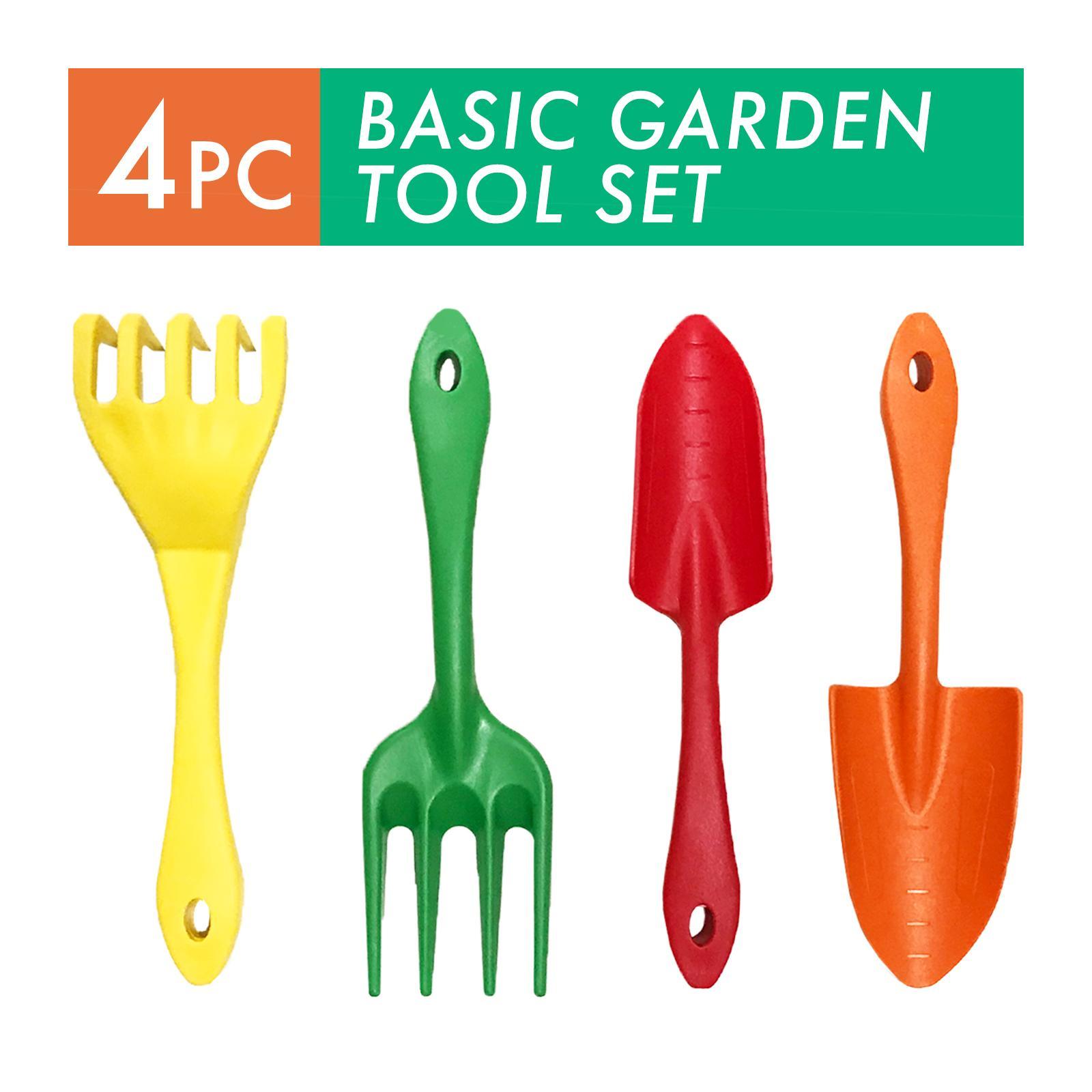 SELLERY 4 PC Fiberglass Garden Hand Tool Set