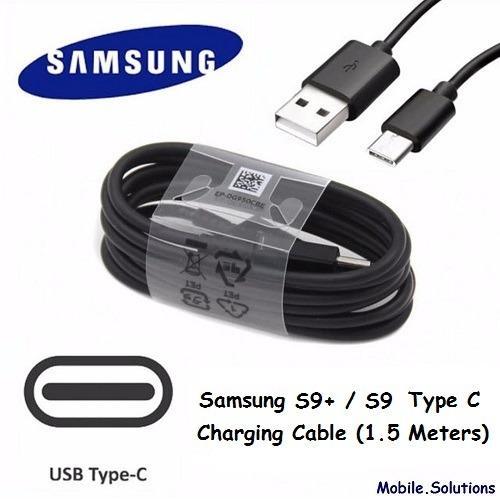 Price Comparisons Samsung Original Cable For S9 S9 Plus Cable 1 5 Meter Black
